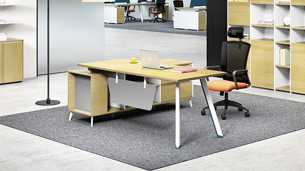 现代时尚简约专业优质省钱口碑好老板板式办公桌椅
