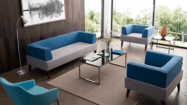 现代时尚布艺沙发休闲沙发价格定做