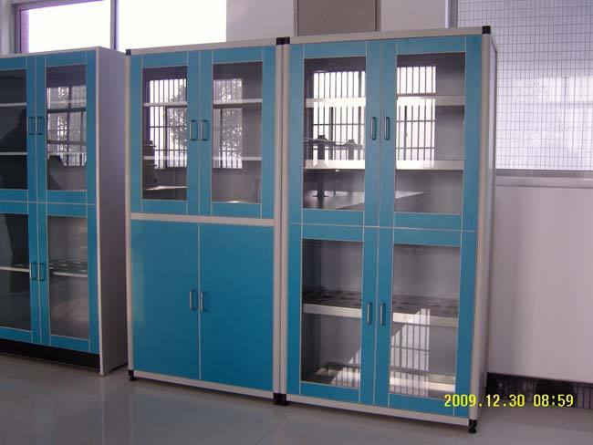 MK-实验室钢木铝木全钢仪器柜S-015