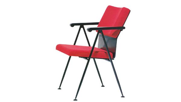 塑料折叠培训椅会议椅会议办公椅带扶手