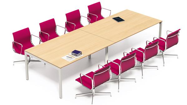 海沃HW-CBHY004钢架会议桌