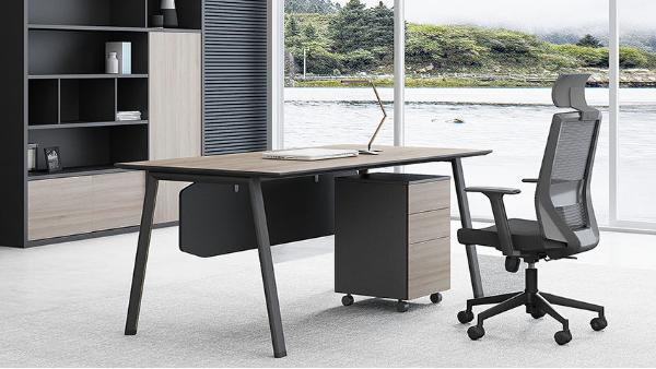 现代简约时尚板领导老板经理办公桌椅办公台大班台写字台价格
