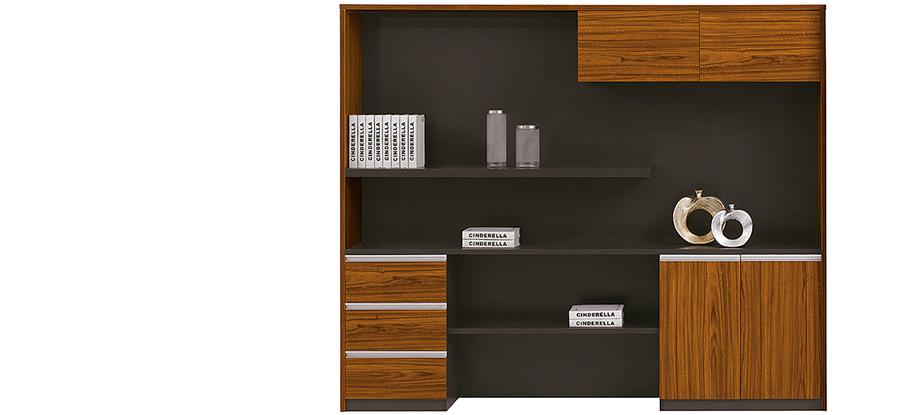 现代时尚办公实木文件柜