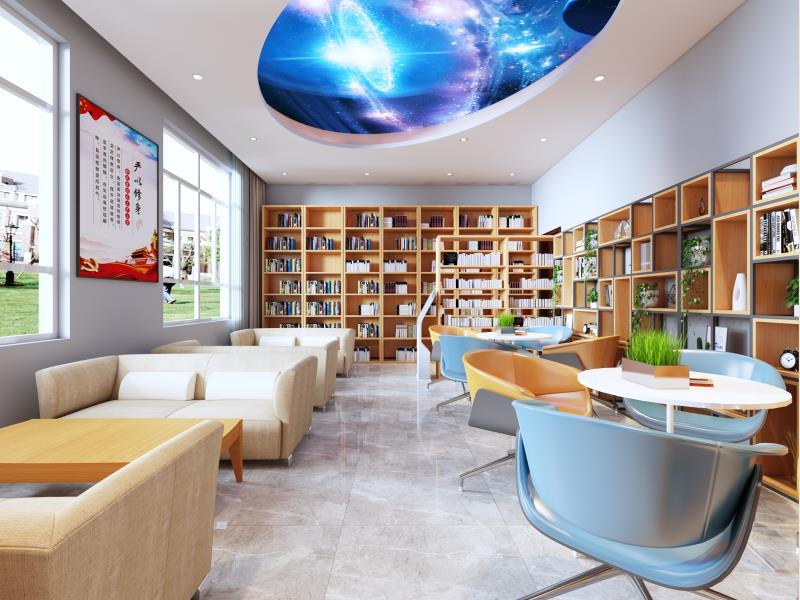 图书馆家具-图书馆书柜-图书馆桌椅