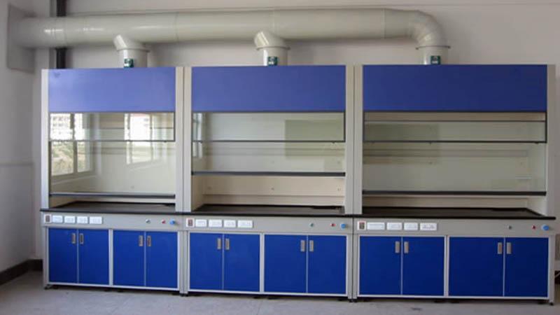 实验室家具化验室落地式通风柜钢木全钢钢木结构通风柜通风橱厂家