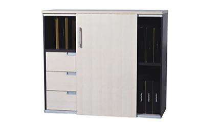 简约现代办公板式文件柜