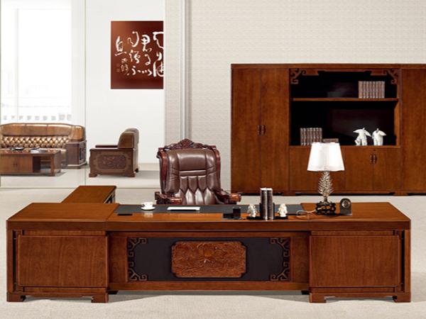 老板实木办公桌大班台图片及价格