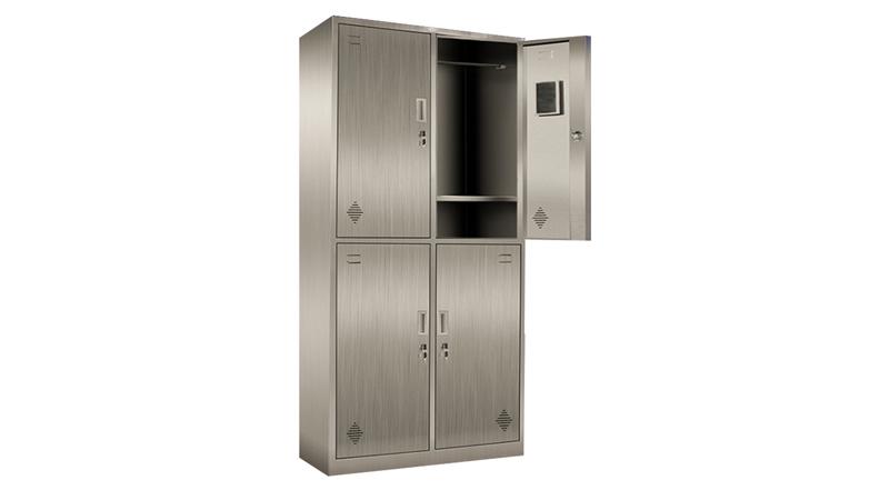 办公不锈钢钢制文件柜带钥匙厂家