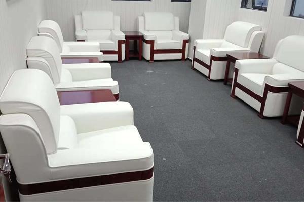 南京现代办公家具厂家定制设计威嘉建设时尚大气的办公空间