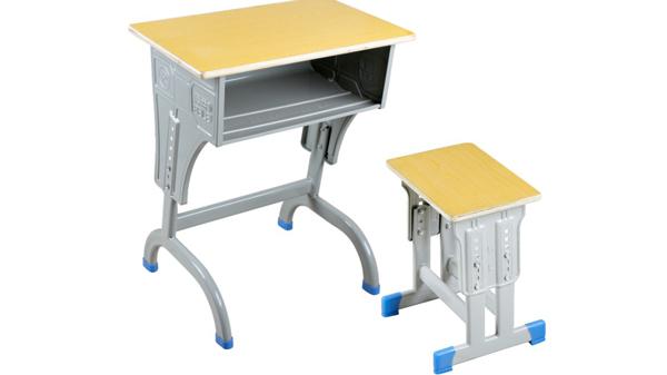 学校升降钢木幼儿园学生课桌椅厂家报价