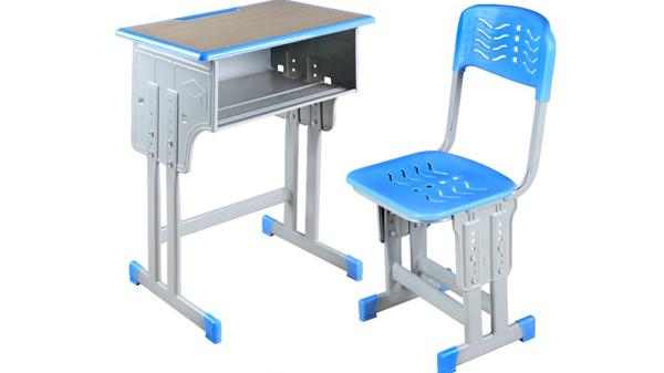 学校幼儿园升降钢木小学生课桌椅培训桌椅价格批发厂家