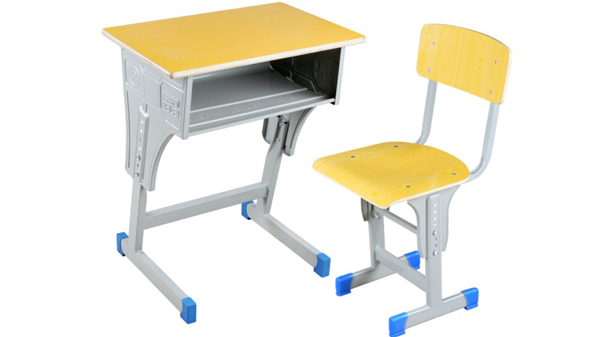 学校幼儿园钢木小学生课桌椅培训桌椅厂家批发价格