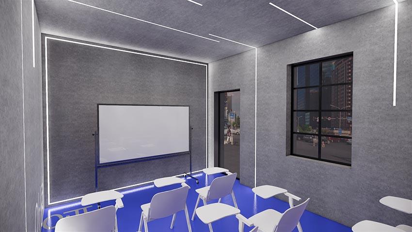 培训学校-会议室-培训实训室家具