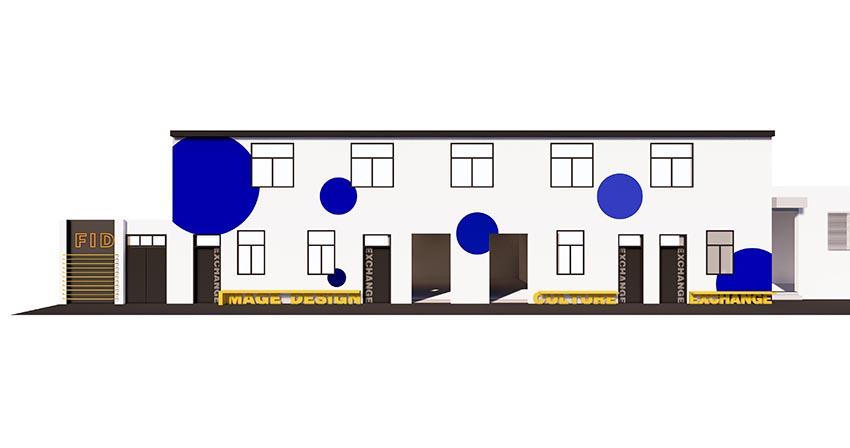 培训学校-走廊设计家具