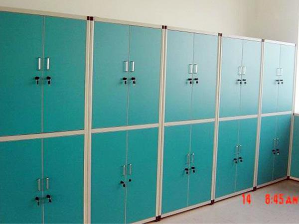 员工abs塑料铝木铁皮不锈钢更衣柜定做批发价格厂家