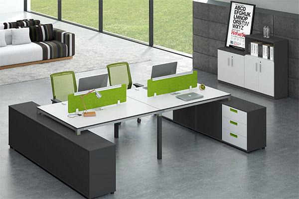 现代时尚办公屏风卡位办公桌图片价格尺寸