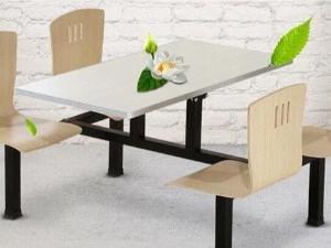 快餐店桌椅尺寸如何选择,南京快餐店桌椅厂家