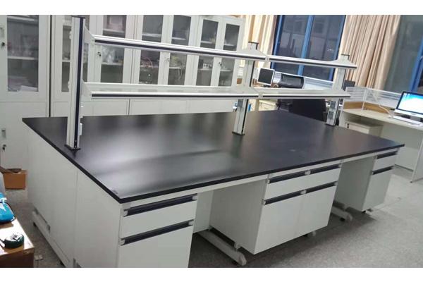 南京学校实验室家具中央实验台厂家定做