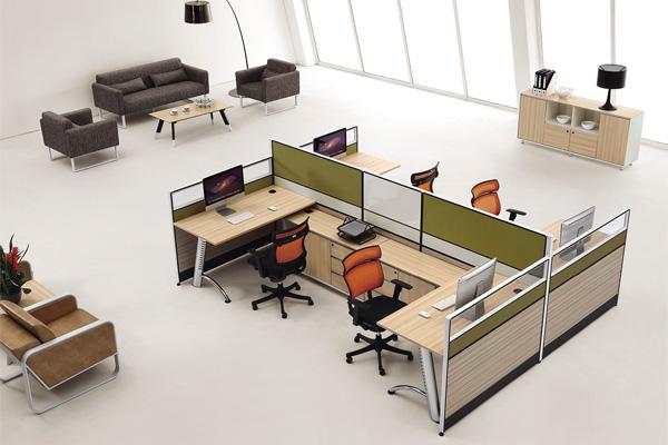 南京专业品牌办公家具厂家定制设计维达纸业屏风工作位